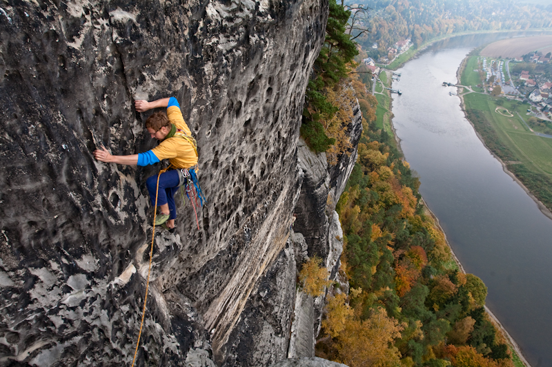 Ronald Reichelt - Steinschleuder DA zum Herbstweg (VIIc)