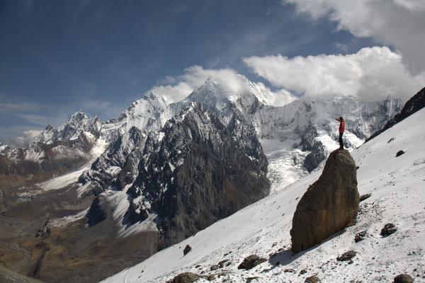 Blick über die Cordillera Huayhuash
