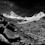 Peru - Artensonraju mit Panoramarand in Schwarz/Weiß