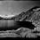 Peru - Bergsee am Alpamayo-Trek mit Panoramarand in Schwarz/Weiß