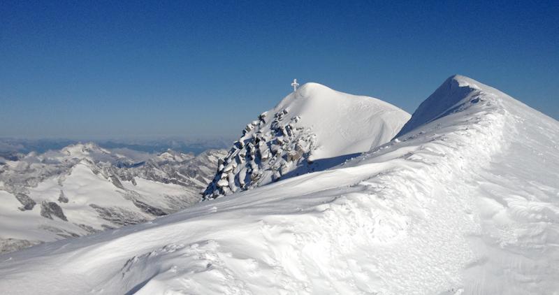 Gipfelgrad des Großvenediger