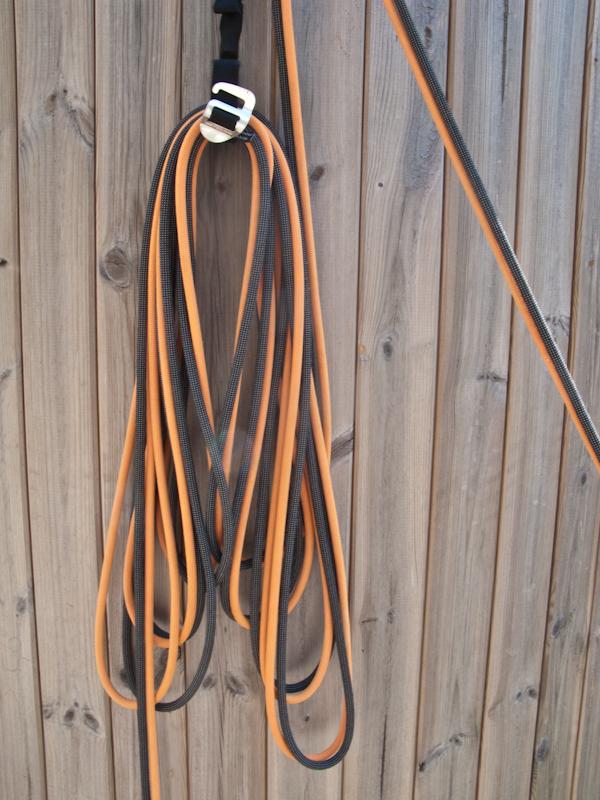 Wichtig: Die Seilschlaufen werden mit jeder Schlaufe ein Stück länger!